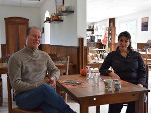 David et Fadia Biancheri ont ouvert les portes du Gourmandin en juin.