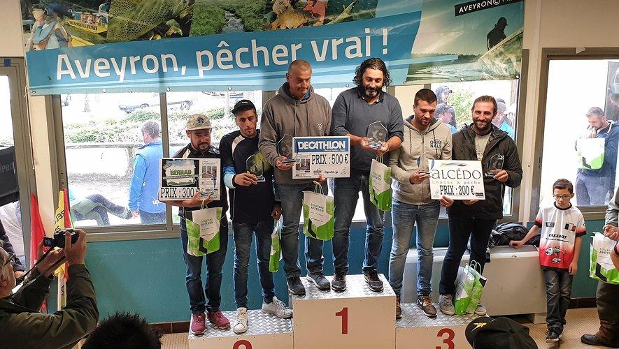 Une magnifique victoire pour Jérôme Picq (à g.) et Franck Berthon qui remportent pour la 3e fois le Challenge. Un record !