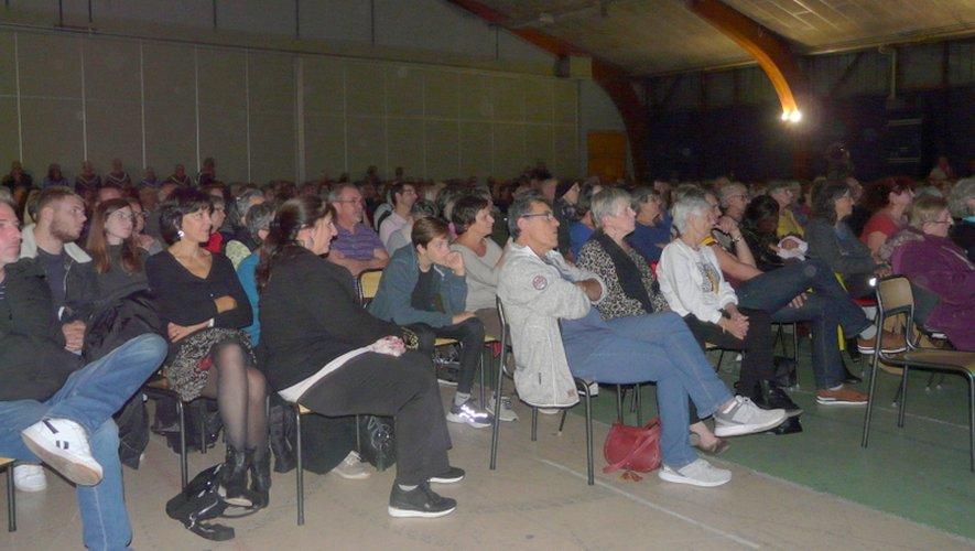 PLus de 500 personnes ont vibré, chanter, danser, et ovationné Gospel