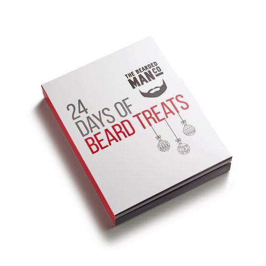 Le calendrier de l'Avent The Bearded Man Company - Prix : environ 37 euros - Site : www.thebeardedmancompany.com.