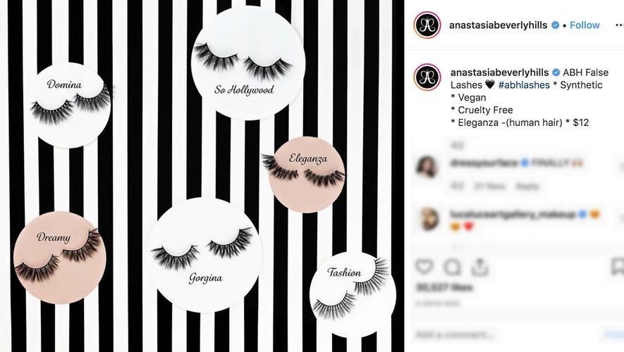 Anastasia Beverly Hills on Instagram