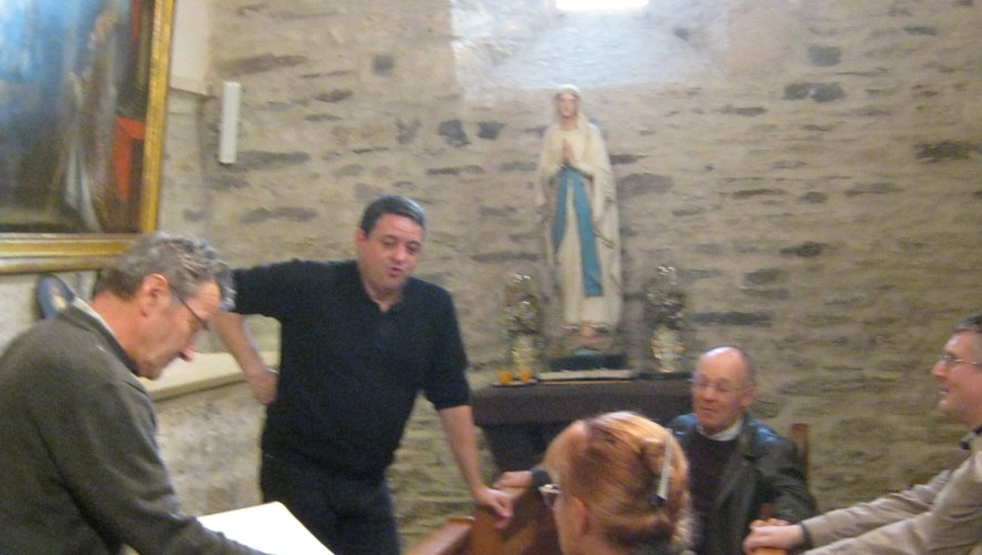 À Saint-Sauveur, les explications de Philippe Arnal.