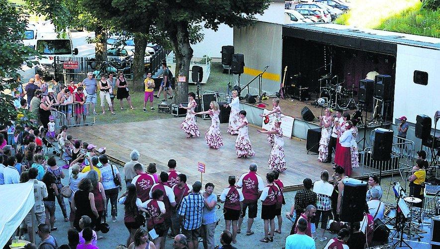 Les Flamencos Y Féria et Los Patos étaient des deux dernières distributions de la fête de la musique.