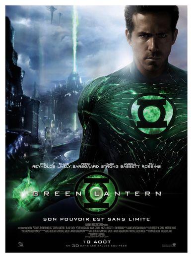 """L'acteur canadien Ryan Reynolds a incarné le super-héros """"Green Lantern"""" dans le film éponyme en 2011 au cinéma."""