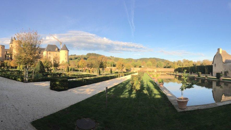 Le château de Bournazel ouvert en ce week-end de Toussaint.