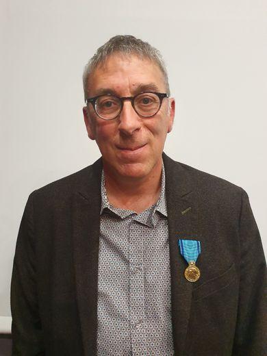 Gilles Enjalbert, coprésident de la Pétanque Primauboise.