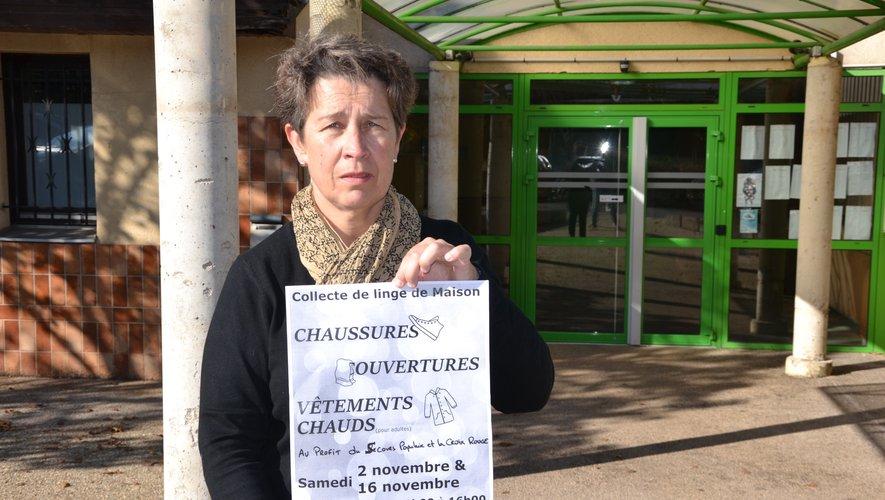 Cécile donne rendez-vous, samedi, dans le hall de l'espace Georges-Bru.