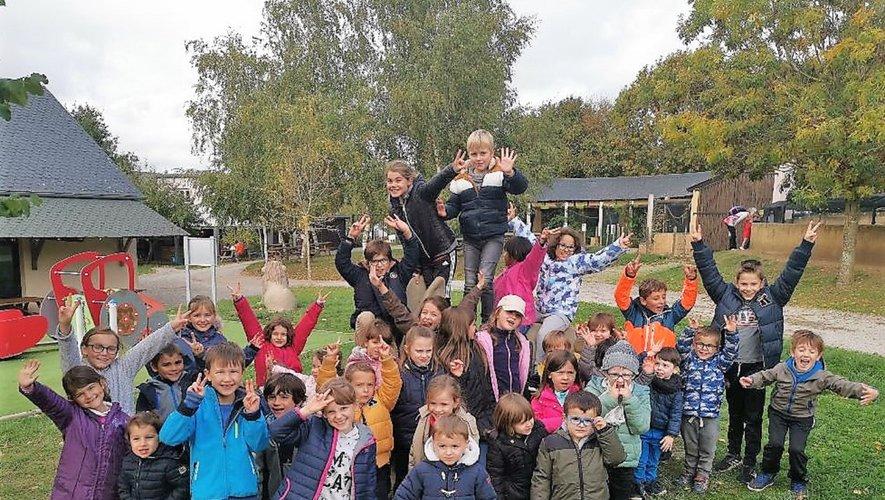 Le parc de Pradinas a beaucoup plu aux enfants.