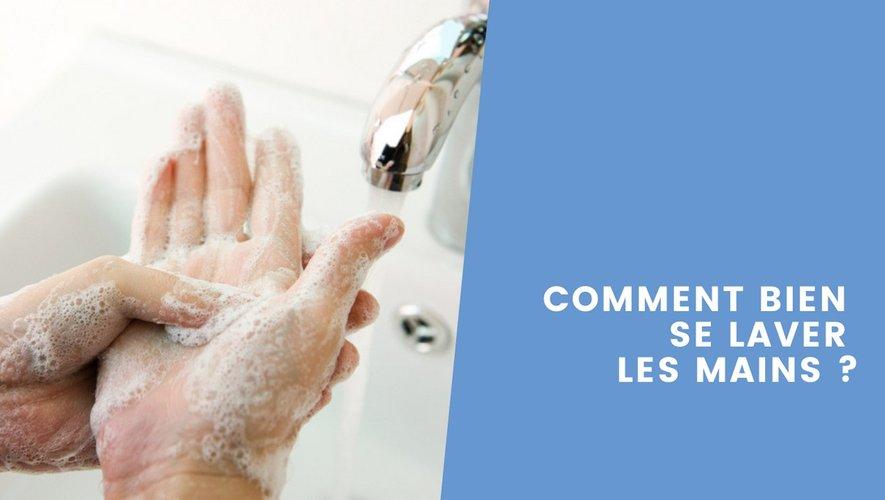 [Vidéo] Hygiène : apprenez à bien vous laver les mains