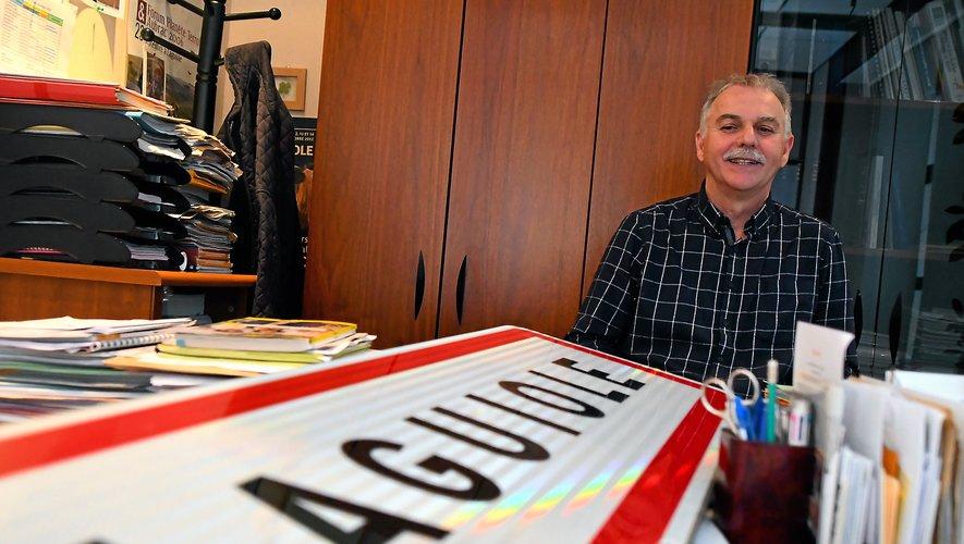 Maire depuis 2001, Vincent Alazard repart en campagne pour les élections municipales de mars prochain.