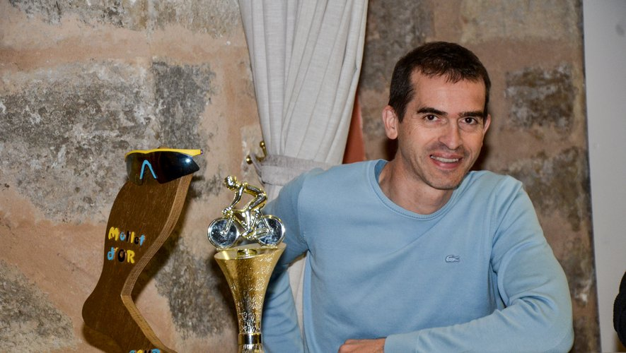Éric Laussel, coprésident, une des chevilles ouvrières du club.