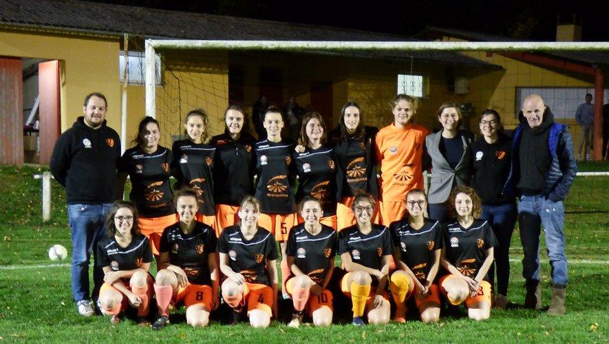 2quipe de foot féminine de La Selve Rullac