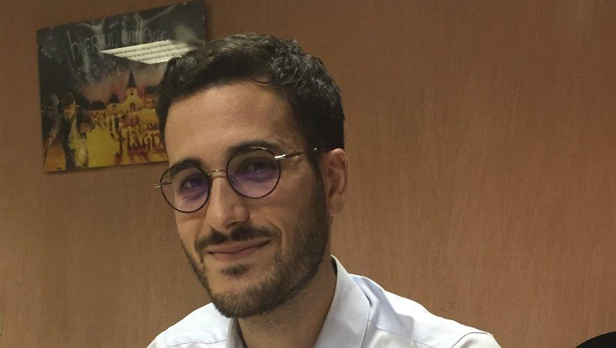 Romain Smaha veut porter la voix des jeunes sur la scène publique.
