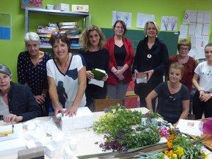 L'atelier d'art floral luco-primaubois a fait sa rentrée