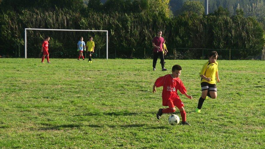Les jeunes joueurs ont montré une volonté à ne rien lâcher.