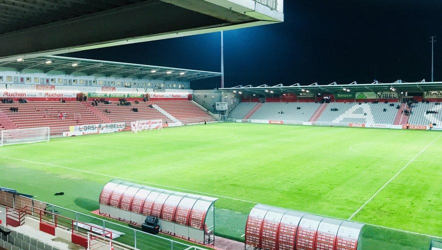Le stade ajaccien François-Coty.