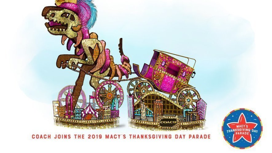 Coach sera la première marque de luxe à participer à la grande parade de Thanksgiving de Macy's à New York (États-Unis).
