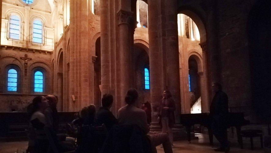 Concert en l'abbatiale de Conques avec Thierry Escaich.