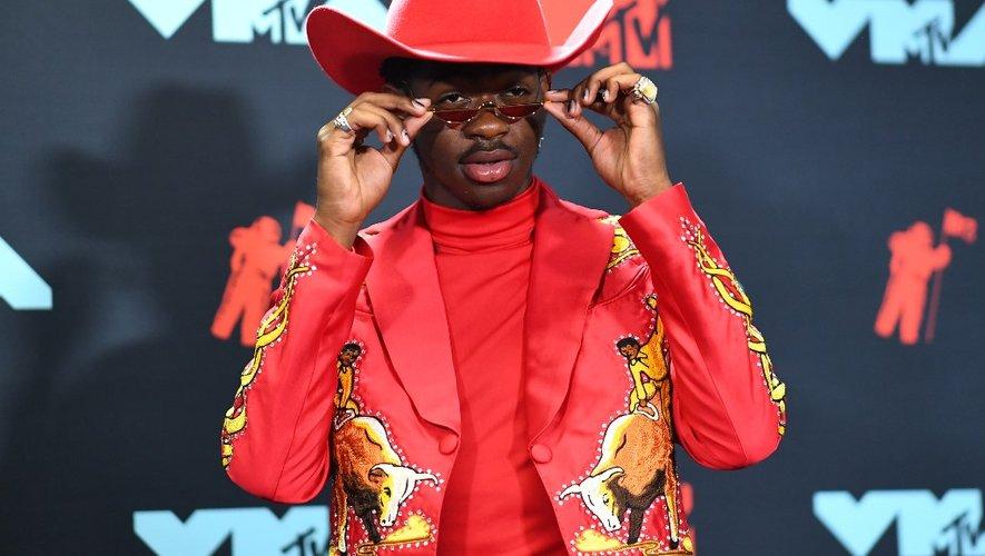 Le rappeur américain Lil Nas X aux MTV Video Music Awards dans le New Jersey, le 26 août 2019.