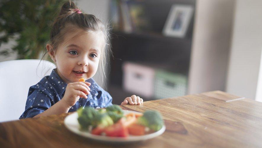 Les apports en fer et en calcium, essentiels pour la croissance de l'enfant, se trouve dans de nombreux aliments (chou vert, brocolis, épinards, haricots secs, lentilles, graine de chia...).