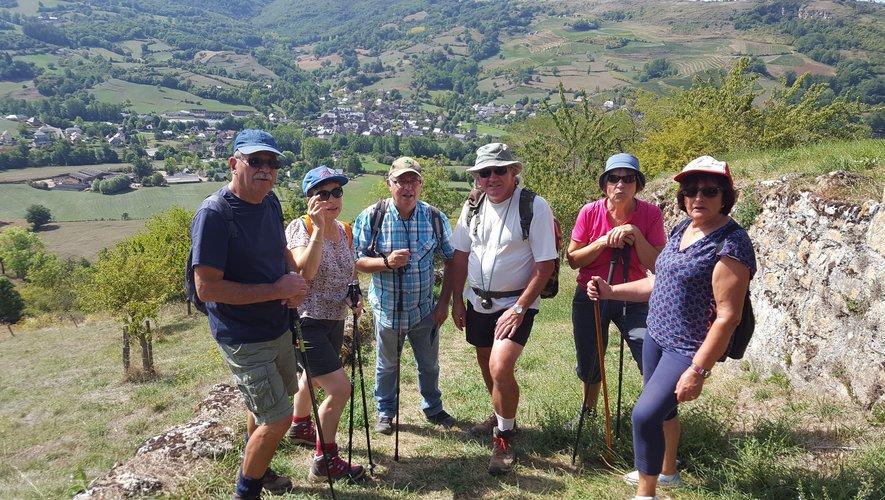 Les randonneurs Seniors du Céor se sont baladés à Clairvaux.