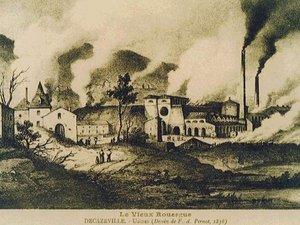 L'industrie s'est implantée dans le Bassin de Decazeville.