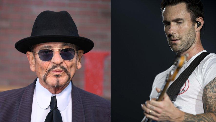 """Le chanteur et acteur Joe Pesci et la chanteur de Maroon 5 Adam Levine s'associent pour """"Baby Girl""""."""