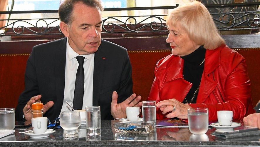 Christian Teyssèdre et Régine Taussat travailleront désormais main dans la main.
