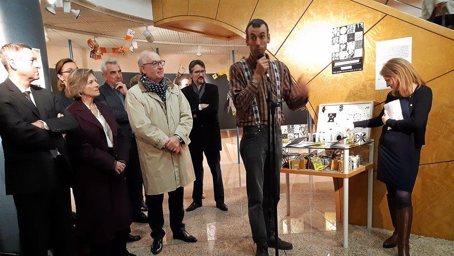 Igor Boyer a travaillé avec usagers de l'hôpital Sainte-Marie pour réaliser cette exposition.