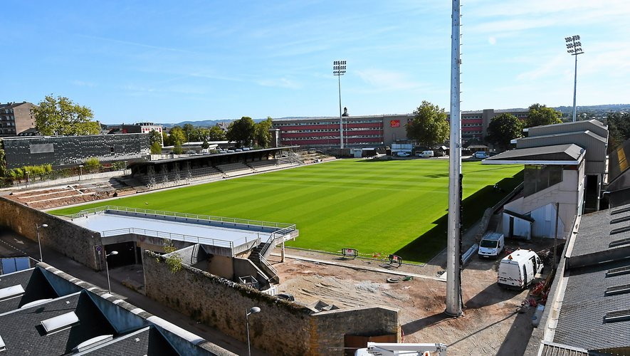 Le stade doit faire l'objet de travaux lors des deux prochains étés.