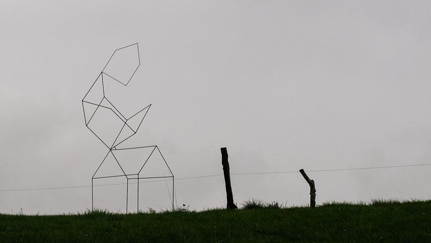 """""""Maison volante"""" de Davy Dujardin."""