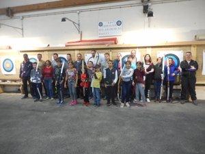Les participants au dernier passage de flèches.