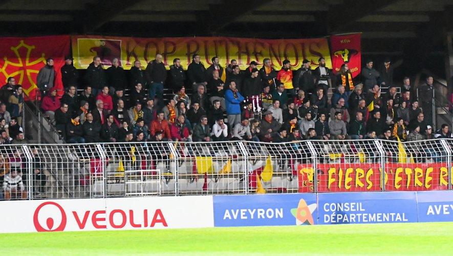Le Raf porte les mêmes couleurs que la ville de Rodez : le rouge et le jaune.