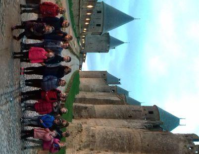 Le séjour a ravi les petits écoliers.
