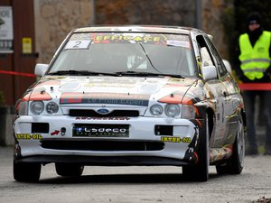 Jean-Michel Da Cunha a remporté la deuxième édition du rallye du Pays rignacois.