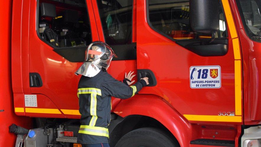 Les centres de secours de Rodez et de Bozouls sont intervenus.