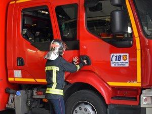 Les pompiers sont intervenus ce dimanche après-midi à Castanet.