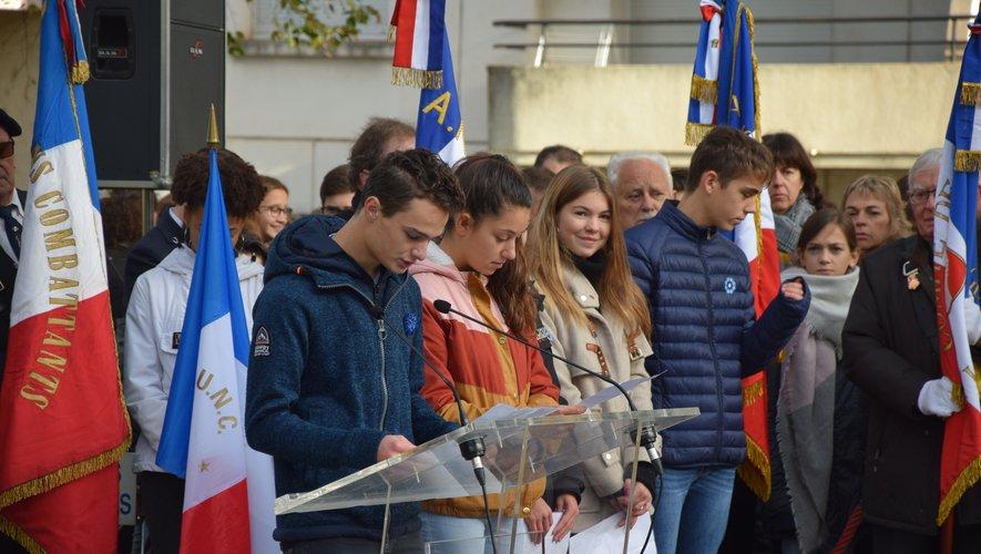 L'Aveyron, qui a perdu 15000 des siens durant cette guerre, fait partie des 10 départements français les plus meurtris.