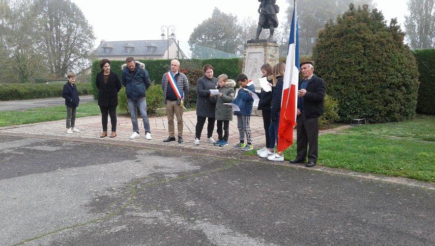 Souvenir au monument aux Morts