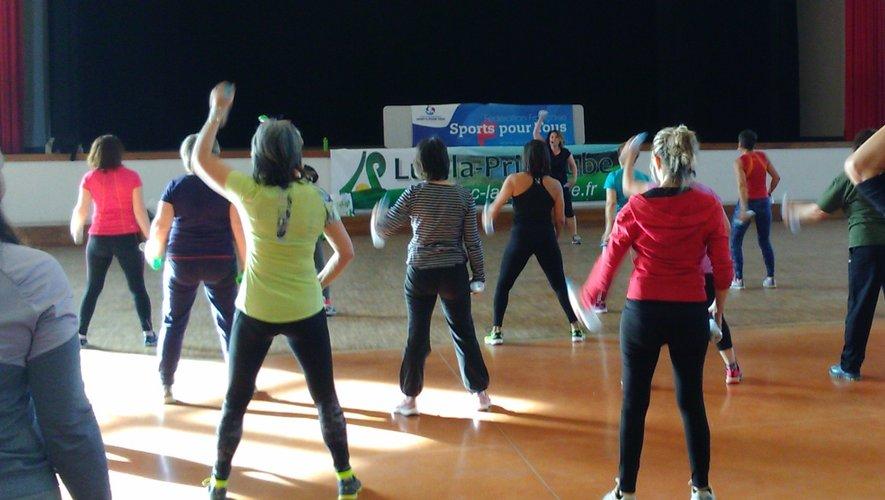 Cette action a pour but de promouvoir le sport pour la femme, ses  bienfaits pour le capital santé et l'estime de soi.