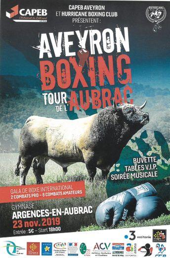 Aveyron Boxing tour fait escale dans la cité