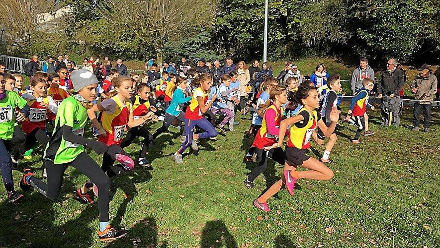 Au total ce sont 116 athlètes des clubs de Luc-Primaube, Rodez, Vallon et Lévézou qui ont franchi la lignée d'arrivée sur les 173 participants samedi à La Primaube.