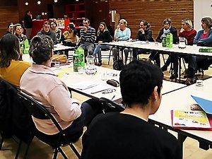 La réunion d'information a reçu une vingtaine de participants.
