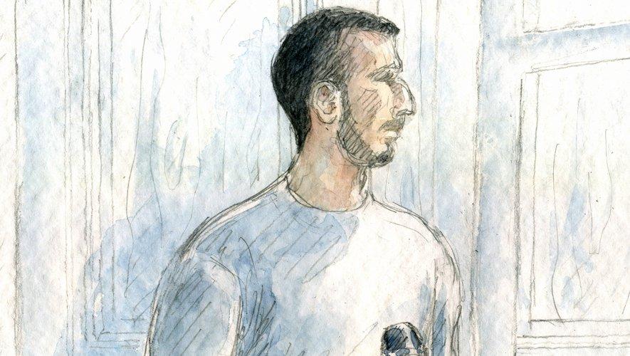 Jérémy Munoz, condamné à 15 ans à Rodez en avril 2018.