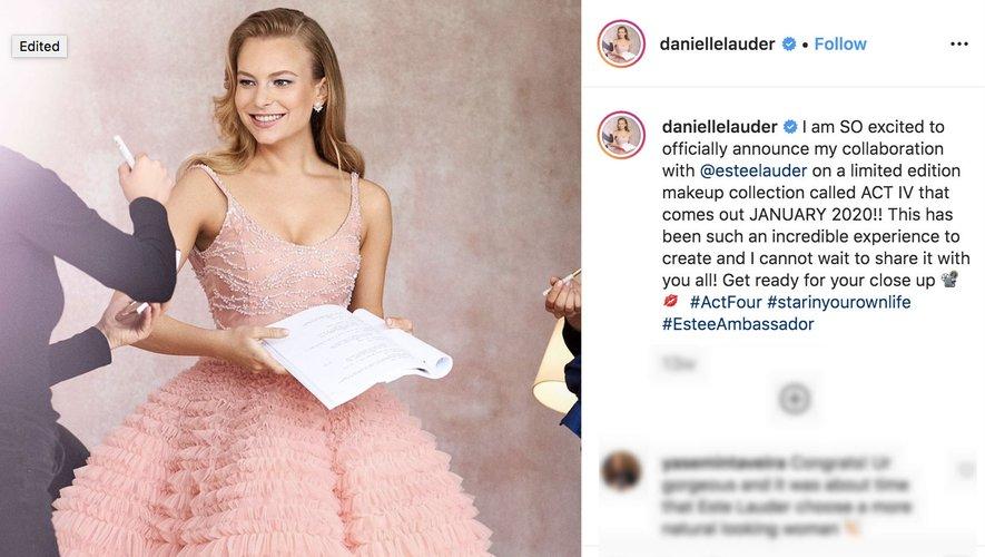 Danielle Lauder a dévoilé quelques détails concernant sa première gamme de cosmétiques commercialisée par la marque familiale Estée Lauder.