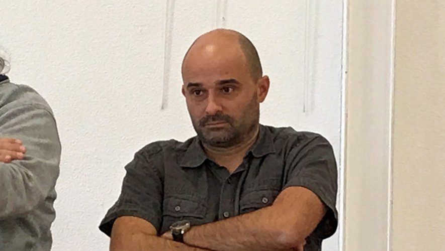 Pascal Raffanel,  l'un des représentants du syndicat CFE-CGC..