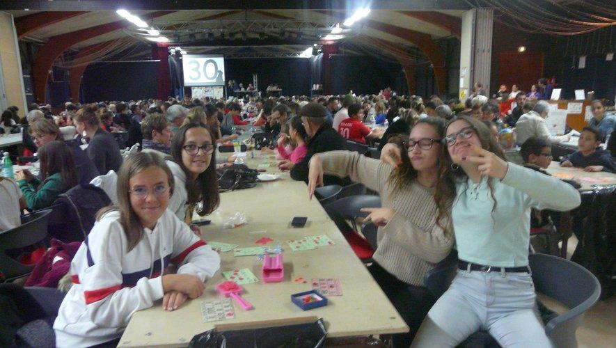 Maëlys, Manon, Ylonna et Ymola, ambassadrices de charme du quine !