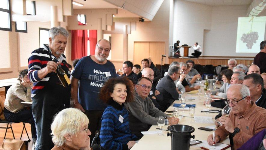 Jean-Marc Auméras et Jean Rosen étaient les grands organisateurs de la manifestation.