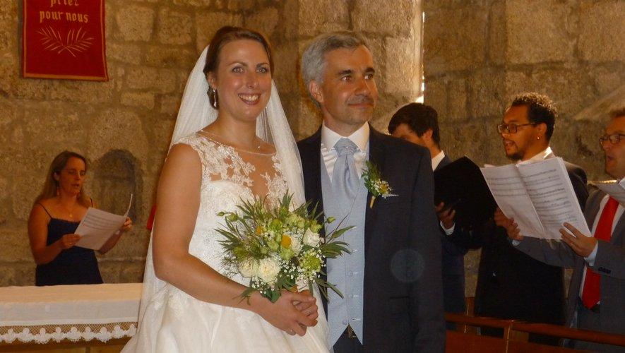 Marina et François-Gabriel ont uni leur destinée à la Capelle