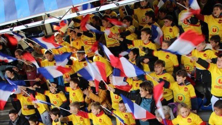 Le jaune était à l'honneur au stade  Marcel-Michelin.